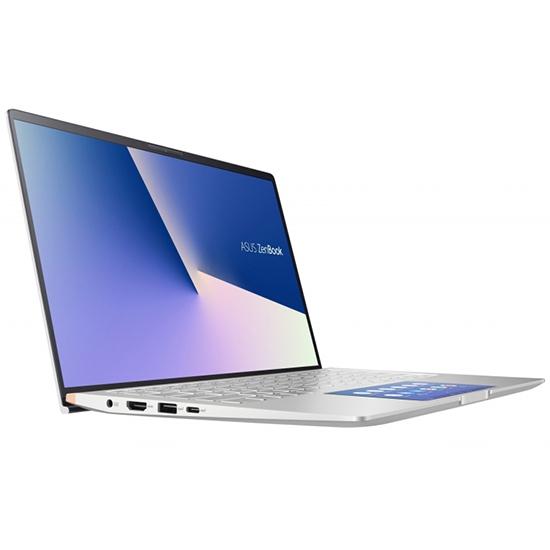 """Tovarniško obnovljen!  Prenosnik ASUS ZenBook UX434FLC-WB712R i7 / 16GB / 512GB SSD / 14"""" FHD / Windows 10 Pro (srebrn)"""