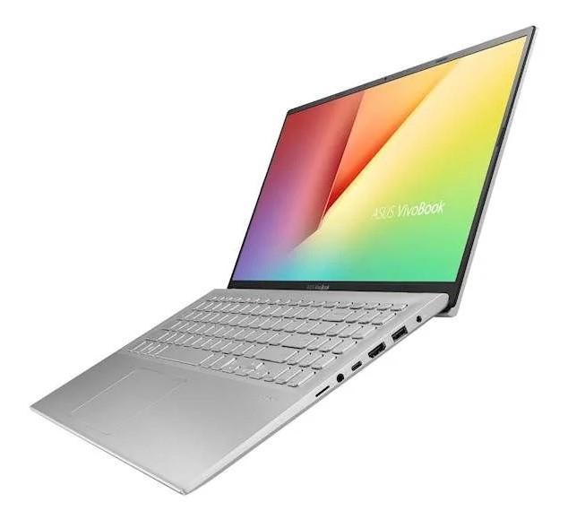 """Tovarniško obnovljen!  Prenosnik Asus VivoBook X512DA-EJ389T AMD R7 / 8GB / 512GB SSD / 15,6"""" FHD / Windows 10 (srebrn)"""