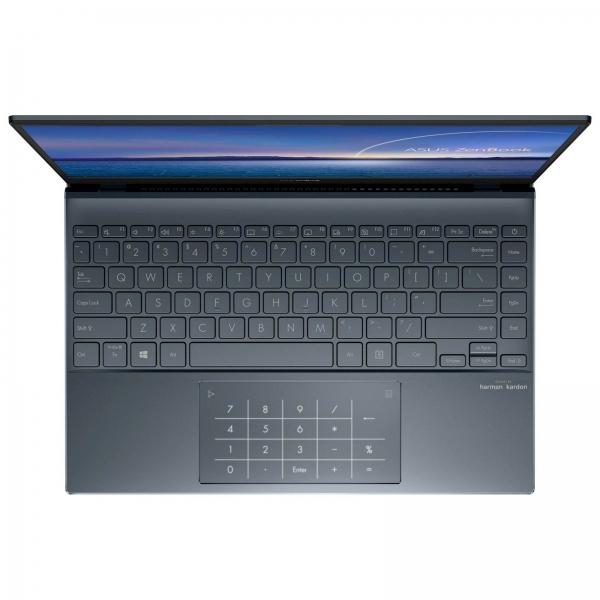 Tovarniško obnovljen!  Prenosnik Asus ZenBook UX325JA-WB501T i5 / 8GB / 512GB SSD / 13,3 FHD IPS / Windows 10 (siv)