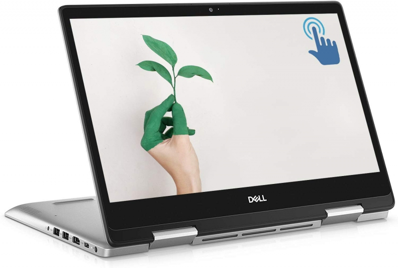 "Tovarniško obnovljen!  Prenosnik Dell Inspiron 5485 Convertible 2-in-1 Ryzen 7 / 8GB / 512GB SSD / Win 10 / 14"" FHD Touchscreen (moder)"