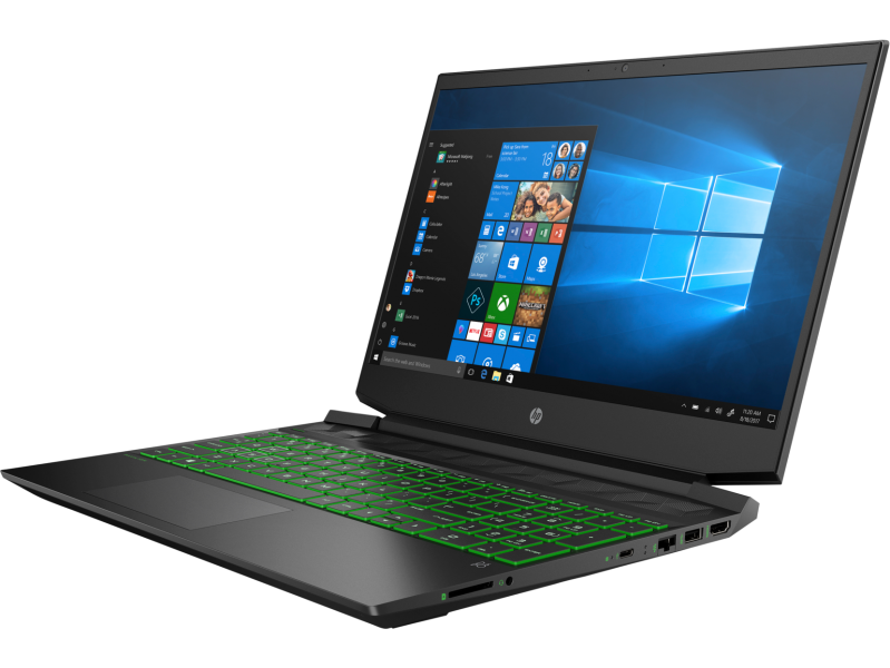 "NOVO Prenosnik HP Pavilion 15-EC0751 Ryzen 5 / 8GB / 256GB SSD / 15,6"" FHD / NVIDIA GTX 1050 / Win 10 Pro (črn)"