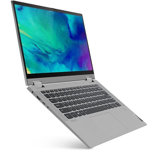 "NOVO Prenosnik LENOVO IdeaPad Flex 5 i3 / 4GB / 128GB SSD / 14"" FHD IPS NA DOTIK / Windows 10 Home S (platinasto siv)"