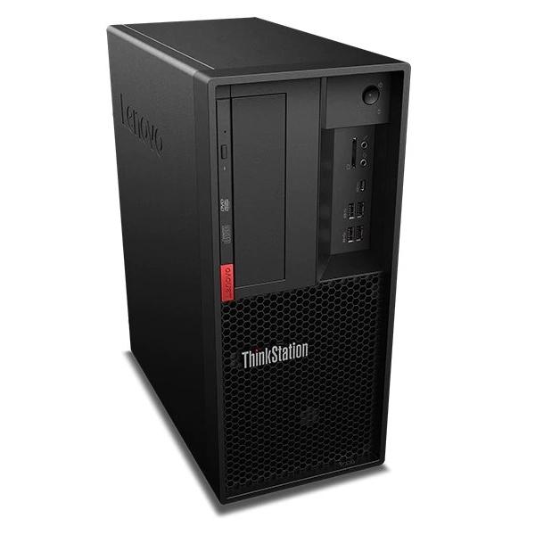 Tovarniško obnovljen!  Računalnik LENOVO ThinkStation P330 Tower Workstation i3 / 16GB / 256GB SSD / NVIDIA Quadro P400 / Windows 10 Pro