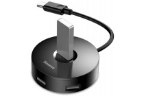 USB hub adapter BASEUS round box Type-C podrobno
