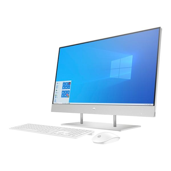 "NOVO Računalnik HP All-in-One 27-DP0019NY R5 / 8GB / 256GB SSD / 27"" FHD IPS / Windows 10 (svetlo srebrn)"